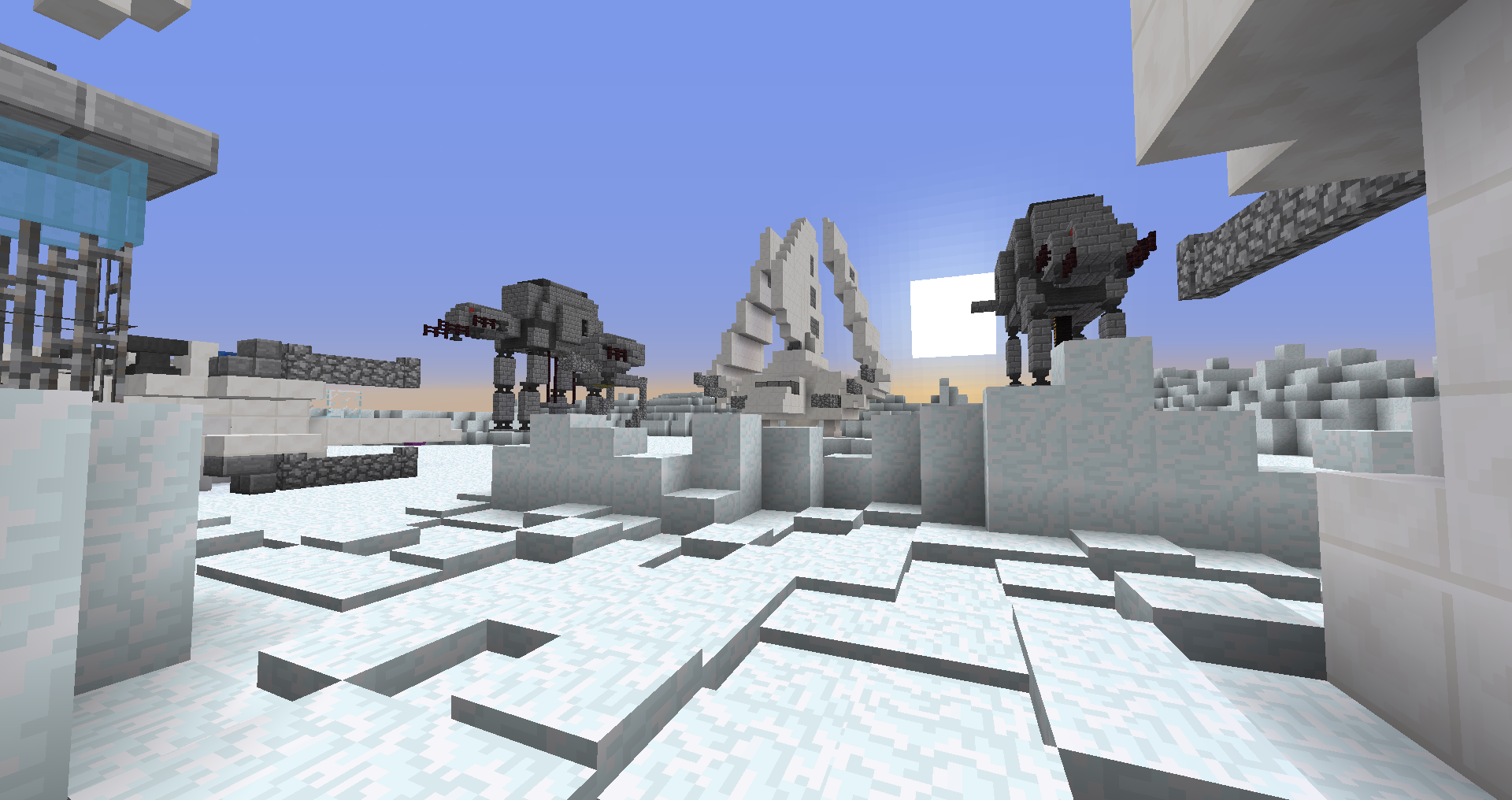 W.I.P. - Mc-war map *Hoth* | Brawl Games - Minecraft Server ...