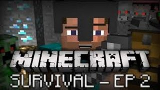 Minecraft Survival Playthrough from Start to Finish #2