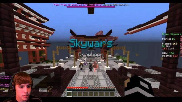 SkyWars on the McBrawl Minecraft Server #6 ( SKYWARS.BRAWL.COM )