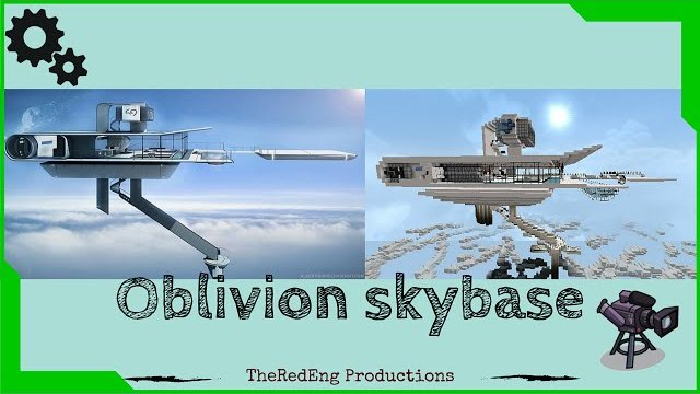 Minecraft Oblivion SkyBase Timelapse + Download