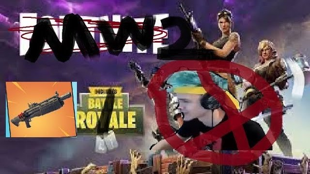 NOT Ninja ( NOT Fortnite Battle Royale ) MW2 EDIT