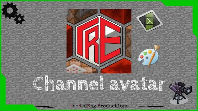 I didn't have photoshop so i decided to make my channel avatar with camtasia ^_^