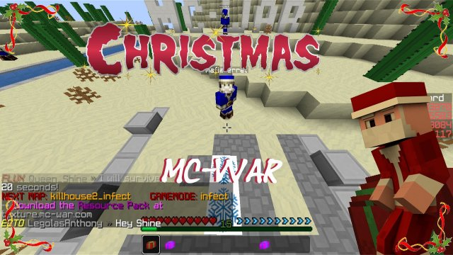 CHRISTMAS WEEK  |  Mc-War - Santa Ferret [English/FullHD]