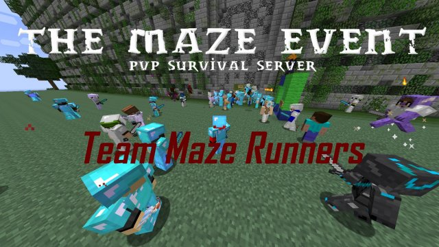 Maze Event - PvP Survival [English/FullHD]