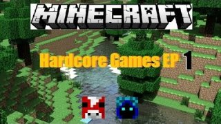 "Minecraft: Hunger Games EP 1 ""2 HACKERS!"""