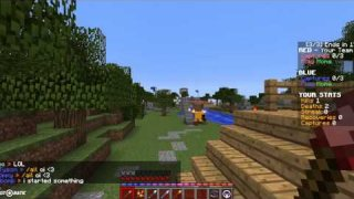 Minecraft brawl.com CTF gameplay