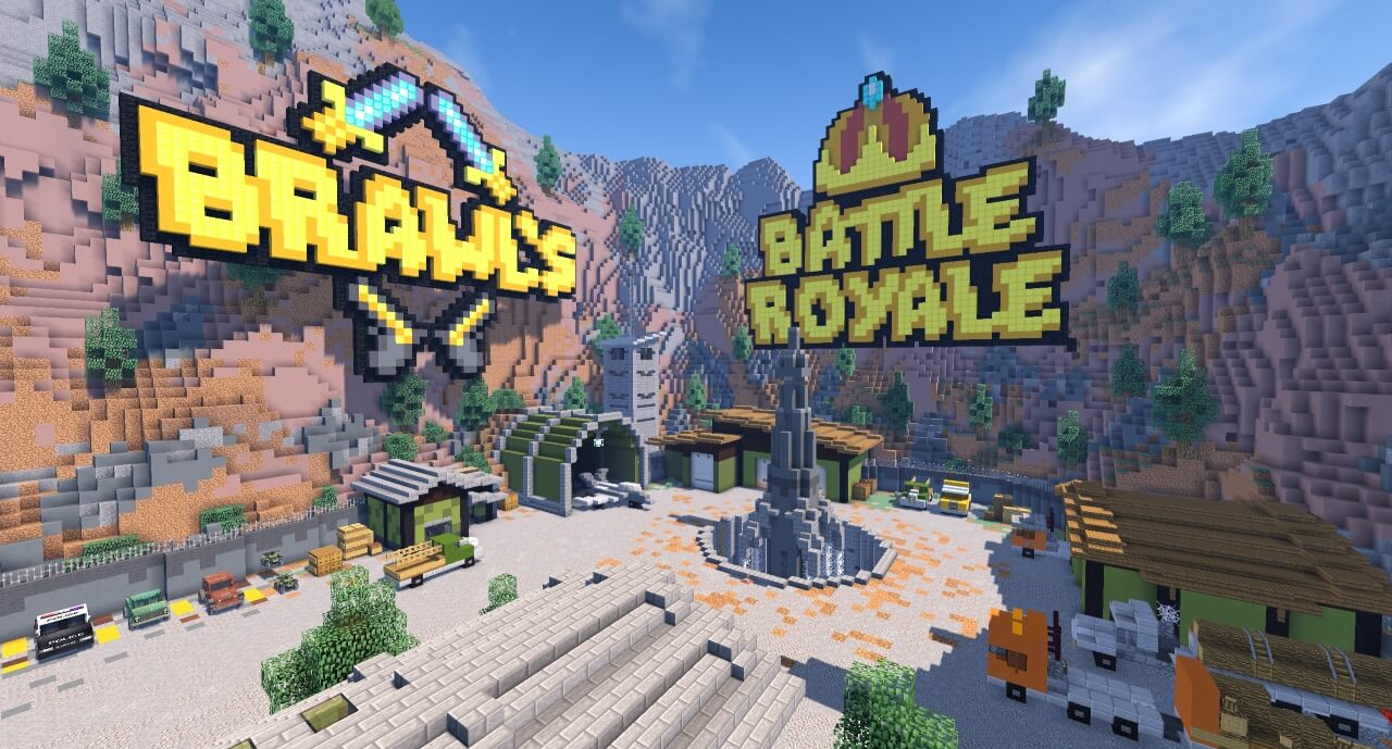 Battle Royale Brawl Games Minecraft Server Network - Minecraft artige spiele